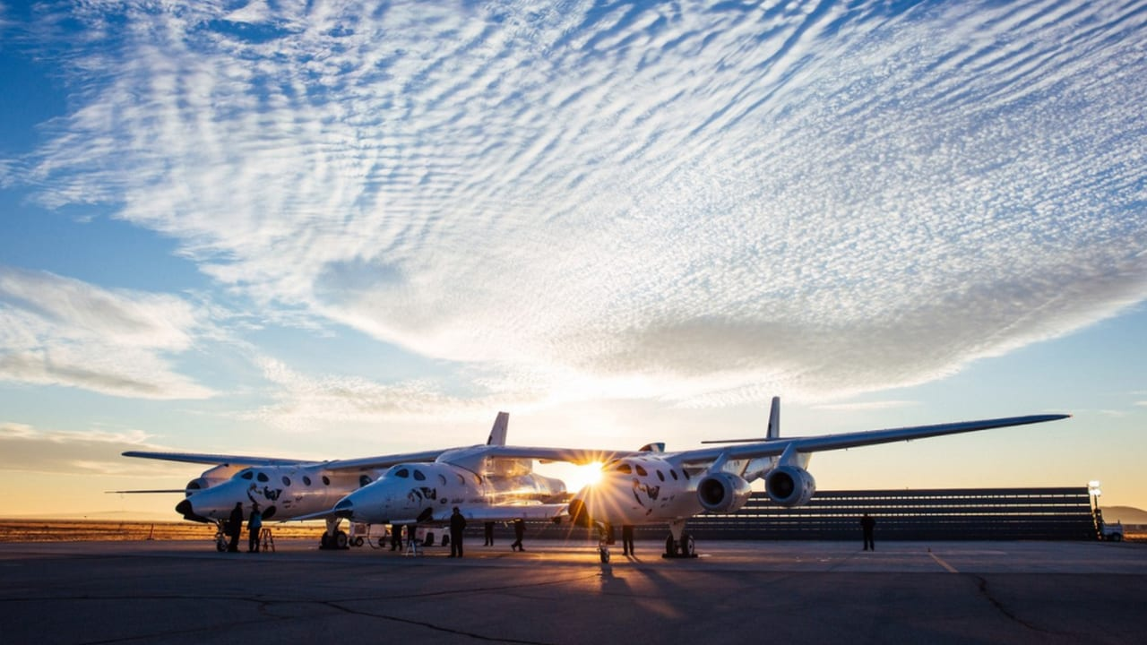 Virgin Galactic's spaceship to be operated in commercial space. Image: Virgin Galactic
