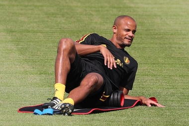 Vincent Kompany has enjoyed more than his fair share of injuries in recent years. AFP