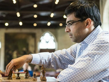File image of Viswanathan Anand. Image credit: Lennart Ootes