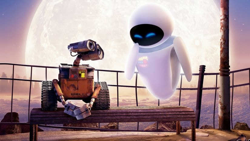 A still from Wall-E. Image via Twiiter
