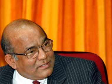 Former RBI governor Y V Reddy. Reuters