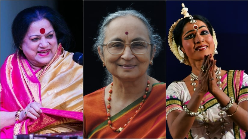 Musicians Haimanti Sukla and Lalith J Rao, Odissi danseuse Sujata Mohapatra  are among those who've been honoured with the Sangeet Natak Akademi puraskar