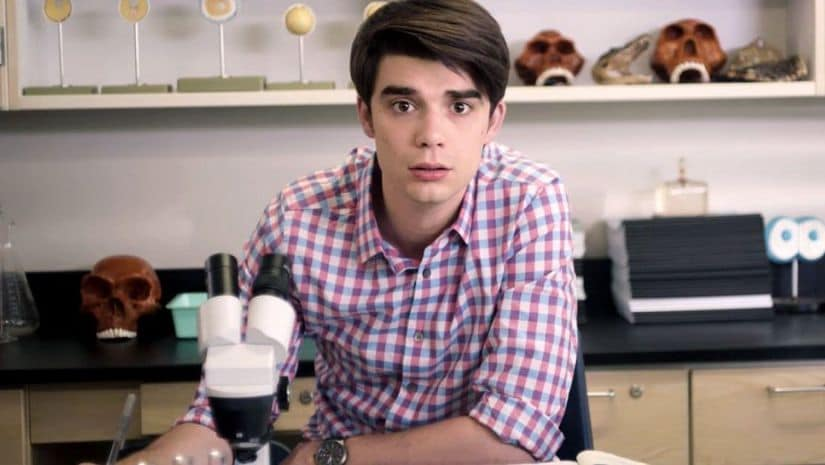 A still from Alex Strangelove. Netflix
