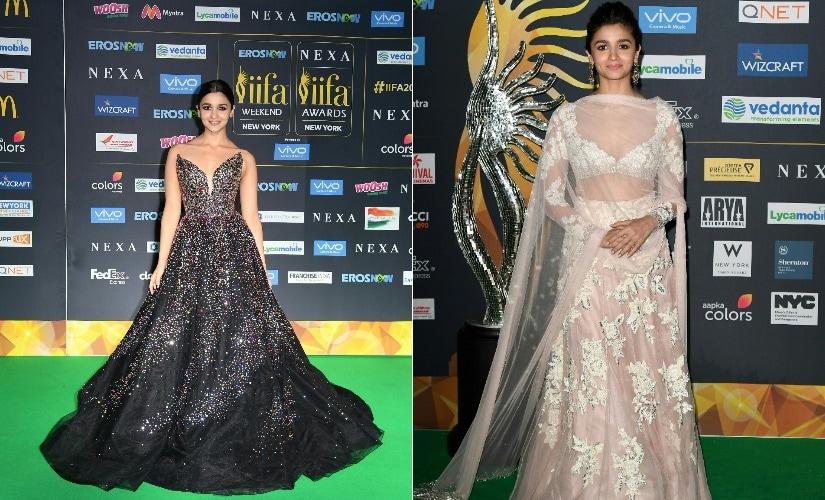 Alia Bhatt at IIFA Awards, 2017