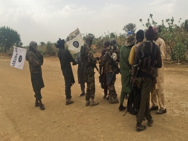 File photo of Boko Haram fighters. Reuters