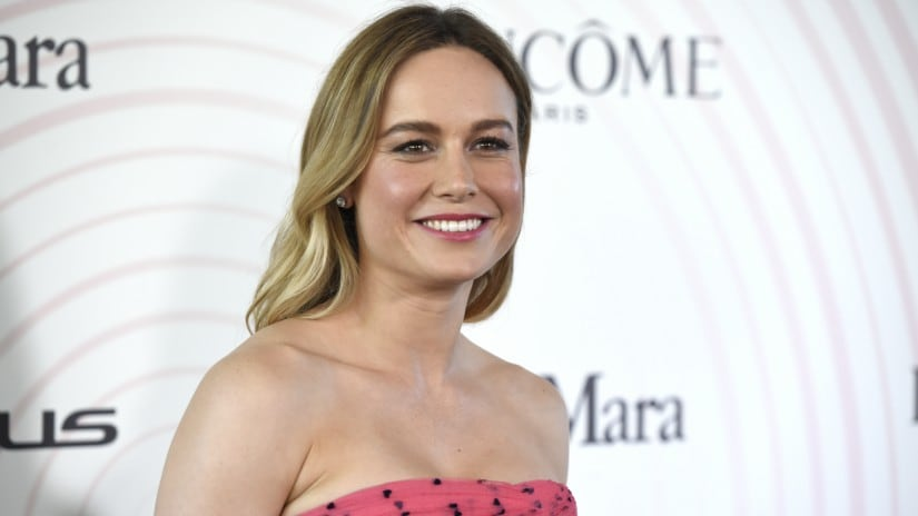 Brie Larson at Women In Film Crystal + Lucy Awards. AP