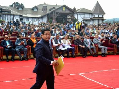 Chief Minister Conrad K Sangma told the media that the urban affairs department has been asked to submit a report regarding various aspects of Sweepers' Colony, such as its history, legal issues, unauthorised occupants etc. AFP