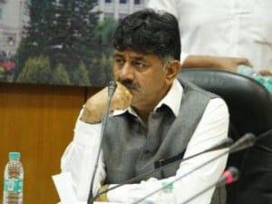 File image of Karnataka power minister DK Shivakumar. Facebook
