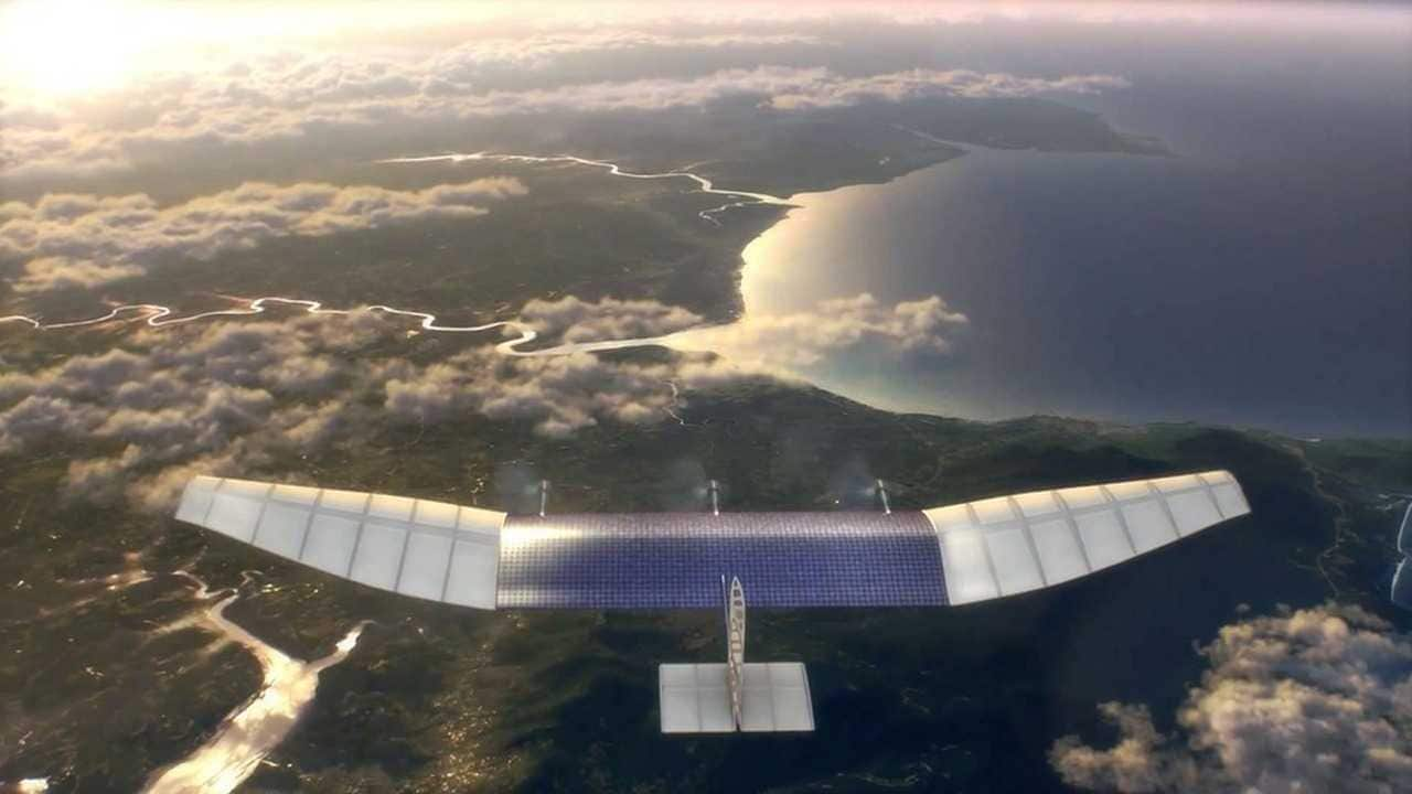 Facebook hangs up its drone-building project