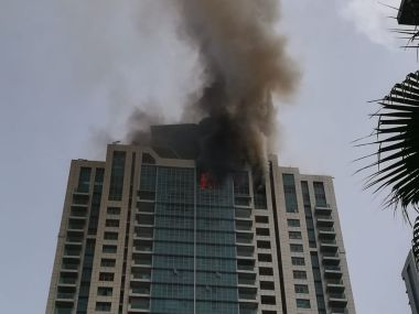 Worli fire updates: 20 fire tenders, two quick-response vehicles brought in; blaze under control