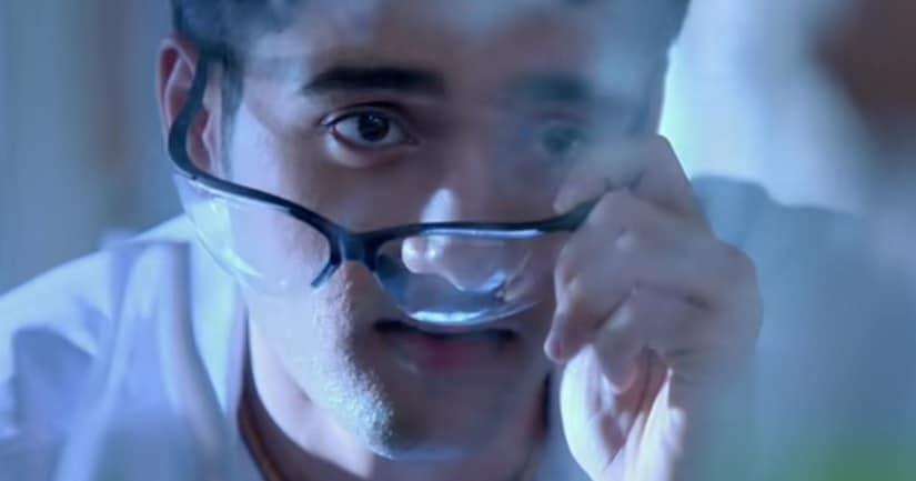 Utkarsh Sharma in a still from Genius. YouTube