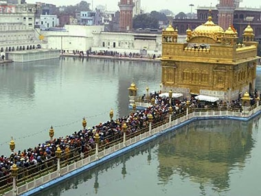 File photo of the Golden Temple. CNN News18