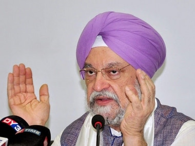 File image of Hardeep Singh Puri. News18
