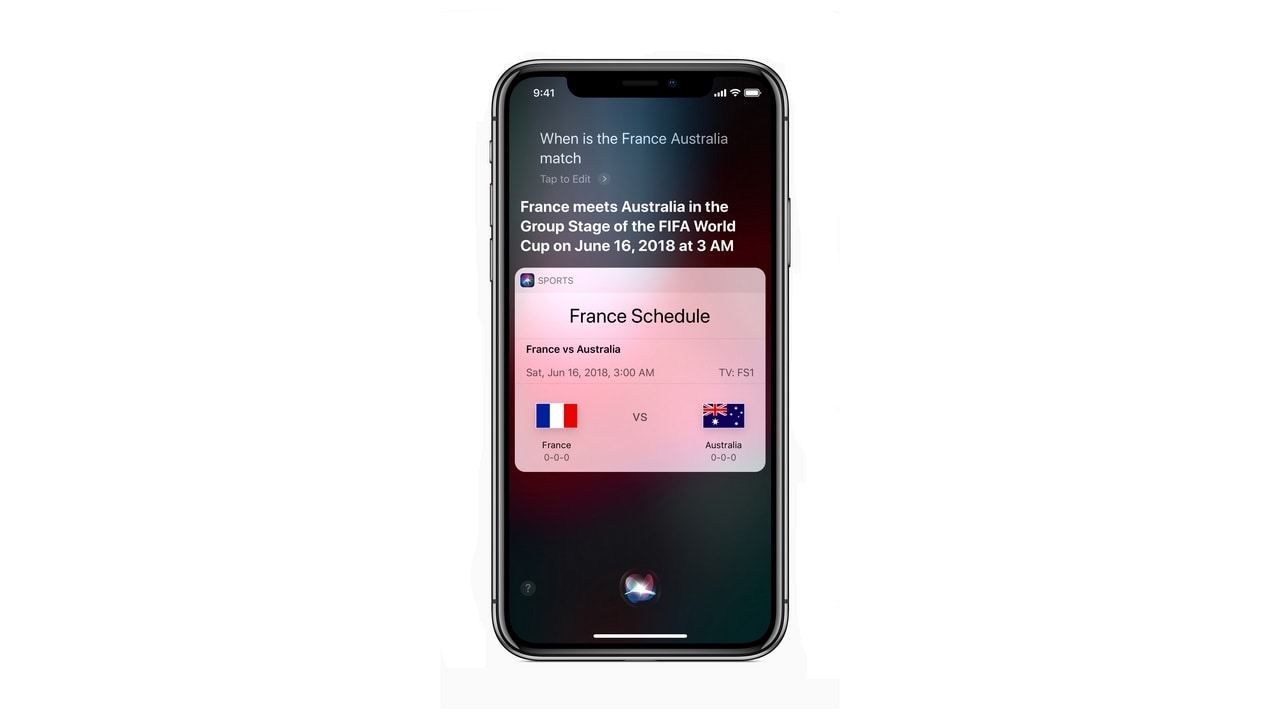 Siri World Cup