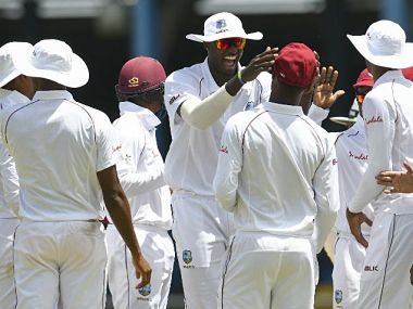 West Indies registered their first Test victory against Sri Lanka in ten years on Sunday. Image courtesy: Twitter @westindies