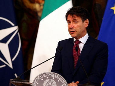 Italy Prime Minister Giuseppe Conte. Reuters