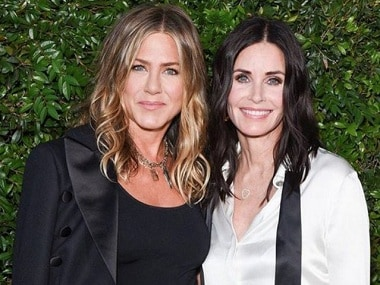 Jennifer Aniston to be maid of honour at Courteney Cox's upcoming wedding to Johnny McDaid