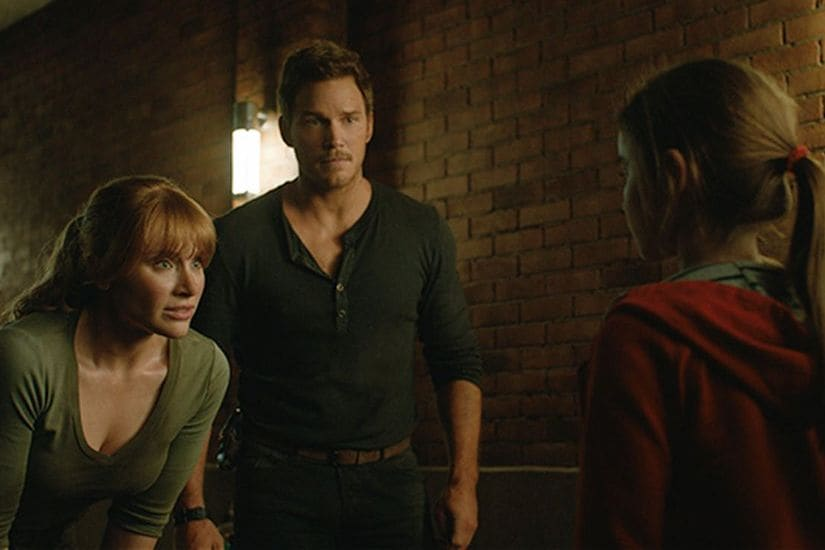 A still from Jurassic World: Fallen Kingdrom. Twitter @bestofpratts