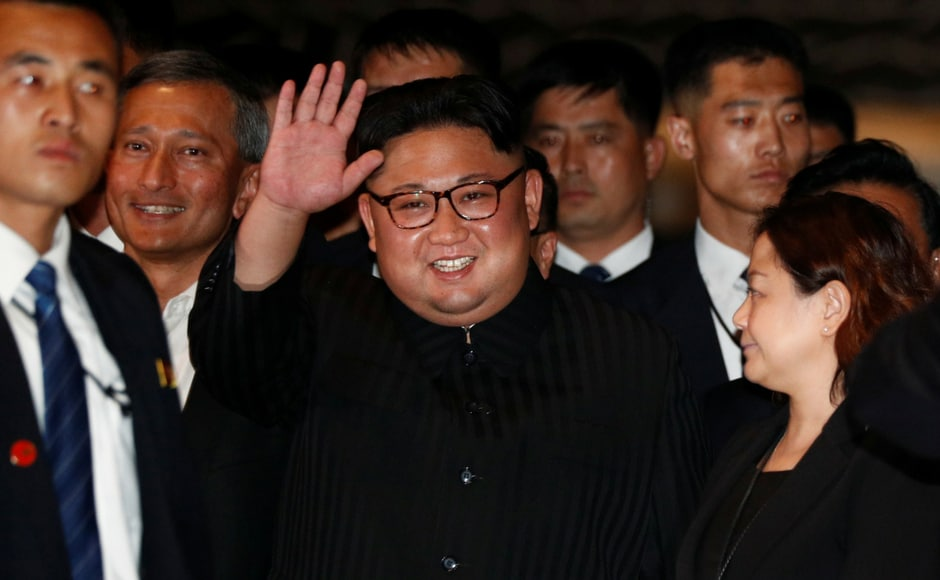 US-North Korea Summit: Kim Jong-un surprises crowds in Singapore with evening tour, smiles for selfie