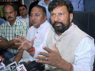 File image of BJP MLA Lal Singh. PTI