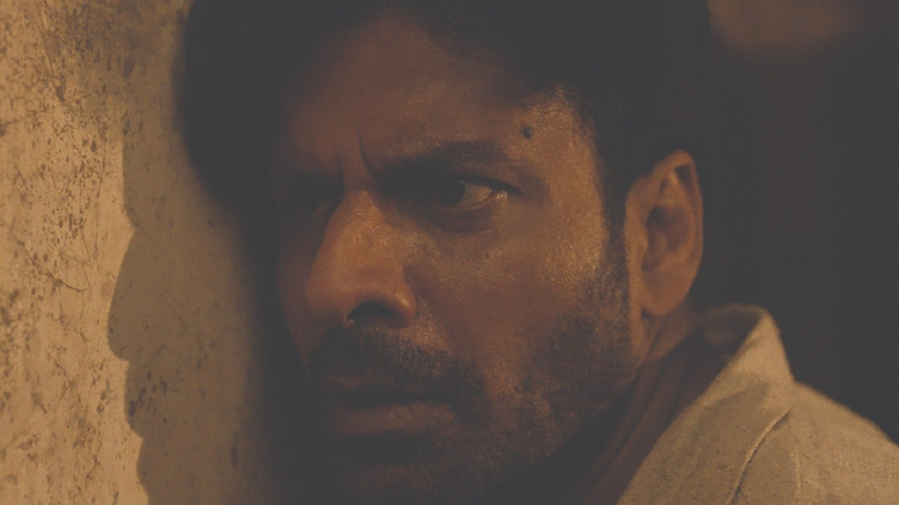 Manoj Bajpayee in a still from Gali Guleiyan