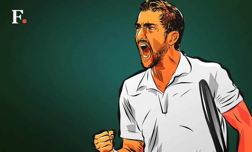 with his second title at Queens, Marin Cilic will travel to Wimbledon with lofty expectations. Art by Rajan Gaekwad