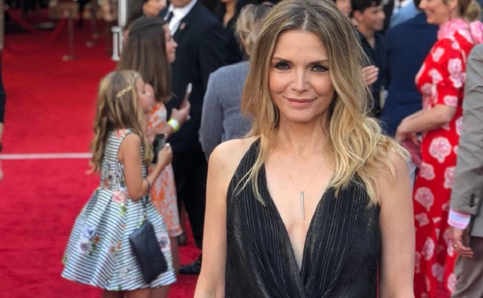 Michelle Pfeiffer at the World Premiere of Ant-Man and the Wasp. Twitter/@MarvelStudios