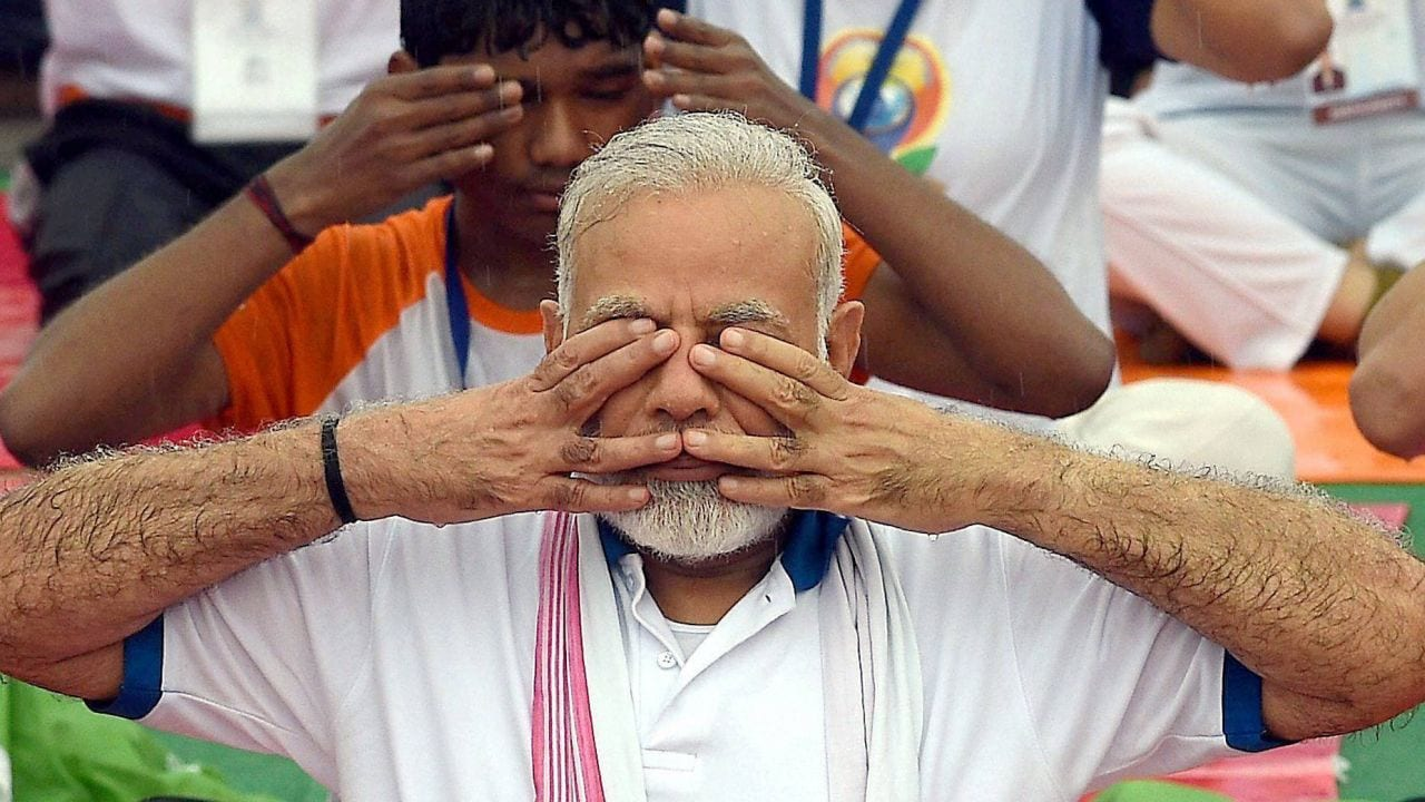 Yoga not a religion, a science; time we all now get back to Yoga: VP Venkaiah Naidu - Firstpost