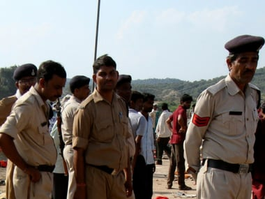 File image of Madhya Pradesh police. Reuters