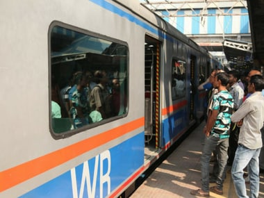 The air-conditioning in Churchgate-bound Mumbai train stopped working on Friday. Twitter@WesternRly