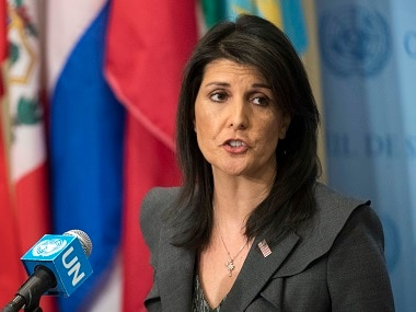 Nikki Haley steps down as US ambassador to UN, says she wont run for president in 2020