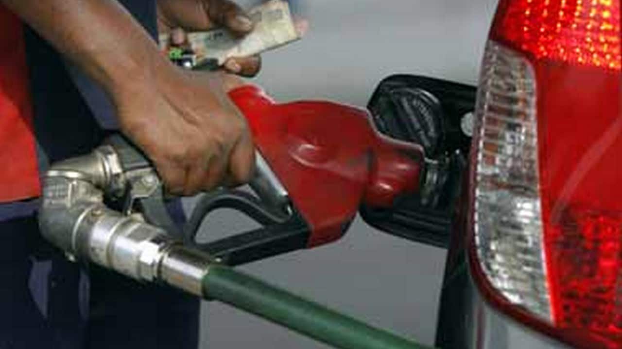 Fuel prices drop for first time in two months across 3 metros; petrol down by 21 paise, diesel 11 paise per litre thumbnail