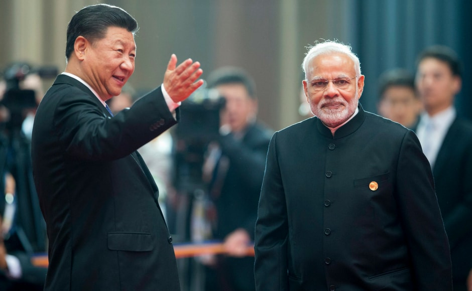 This is the first time that Modi attended the SCO summit after India, along with Pakistan, became full-fledged members of the group, jointly dominated by China and Russia, which have been increasingly seen as a counter to NATO. AP