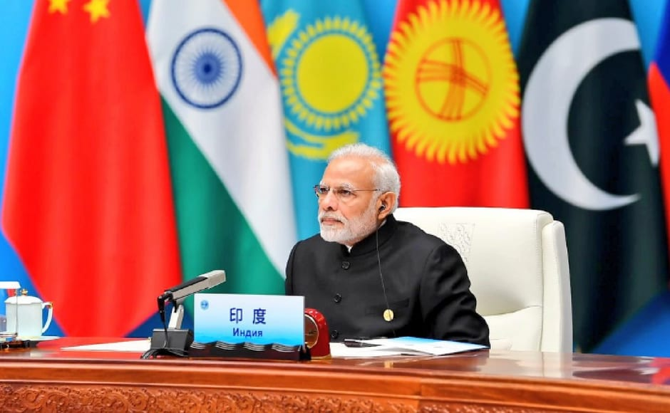 At the restricted session of the Shanghai Cooperation Summit in the Chinese city of Qingdao, Prime Minister Narendra Modi on Sunday appealed for a regional front against terrorism and slammed attempts to