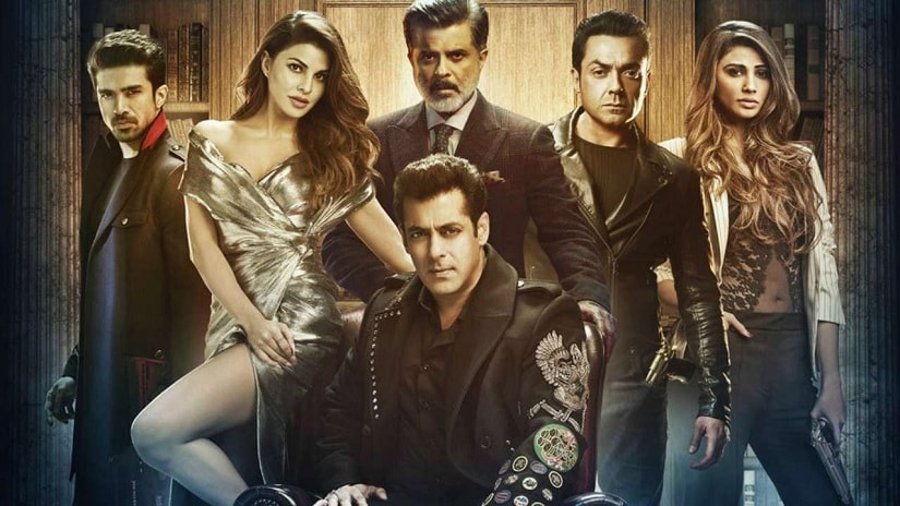 The poster of Race 3
