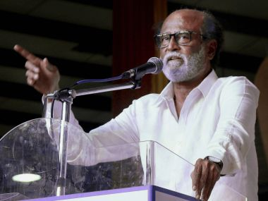 File image of Rajinikanth. PTI