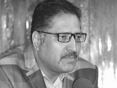 File image of Shujaat Bukhari. Image Courtesy: Facebook