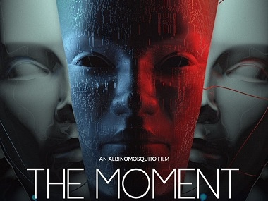 The official poster of the movie, The Moment.