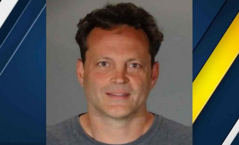 Vince Vaughn's mugshot after arrest/Image from Twitter.