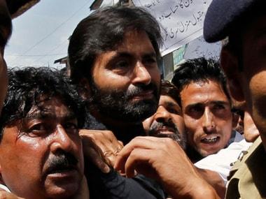 Delhi court sends Yasin Malik to NIA custody till 22 April in case related to funding of separatists, terror groups in J&K