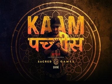 Sacred Games: DIVINE talks about the inspiration behind 'Kaam 25', uncovering the dark side of Mumbai