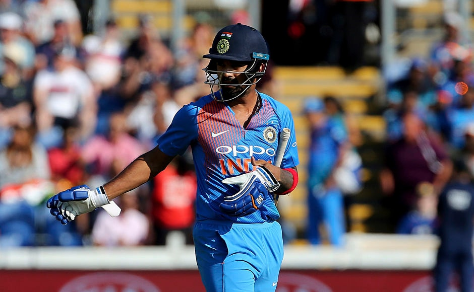 Centurion in the first T20I, KL Rahul, also departed early in his innings after he was done by a delivery from Liam Plunkett, pushing India on the backfoot. AP