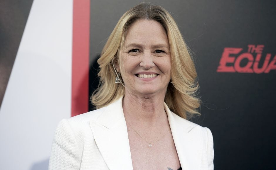 Melissa Leo attends the LA premiere of The Equalizer 2