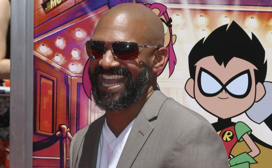 Khary Payton arrives at the premiere of Teen Titans Go! To the Movies in Los Angeles. Photo by Willy Sanjuan/Invision/AP