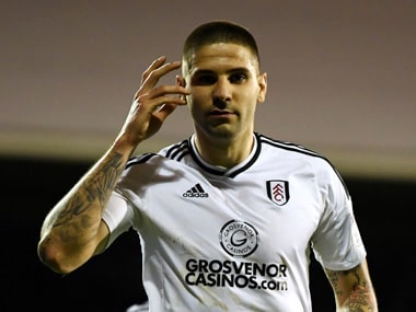 Fulham FC have signed Serbia international Aleksandar Mitrovic from Newcastle United after a loan spell during which he helped them win promotion. Reuters