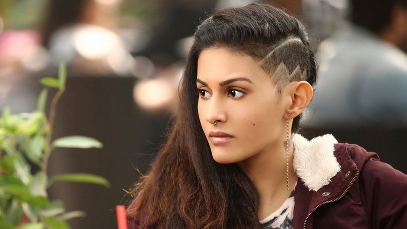 Amyra Dastur in her quirky look in Leena Yadav's Rajma Chawal.