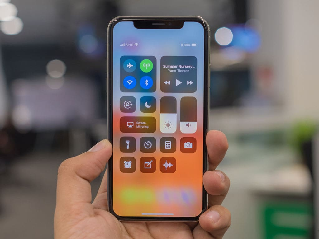 Apple iPhone X. Image: tech2 / Rehan Hooda