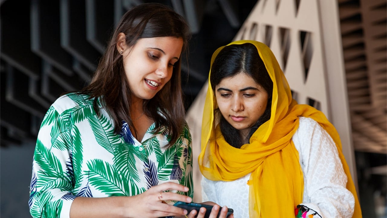 Apple will play a key role in the Malala Fund to boost education for girls
