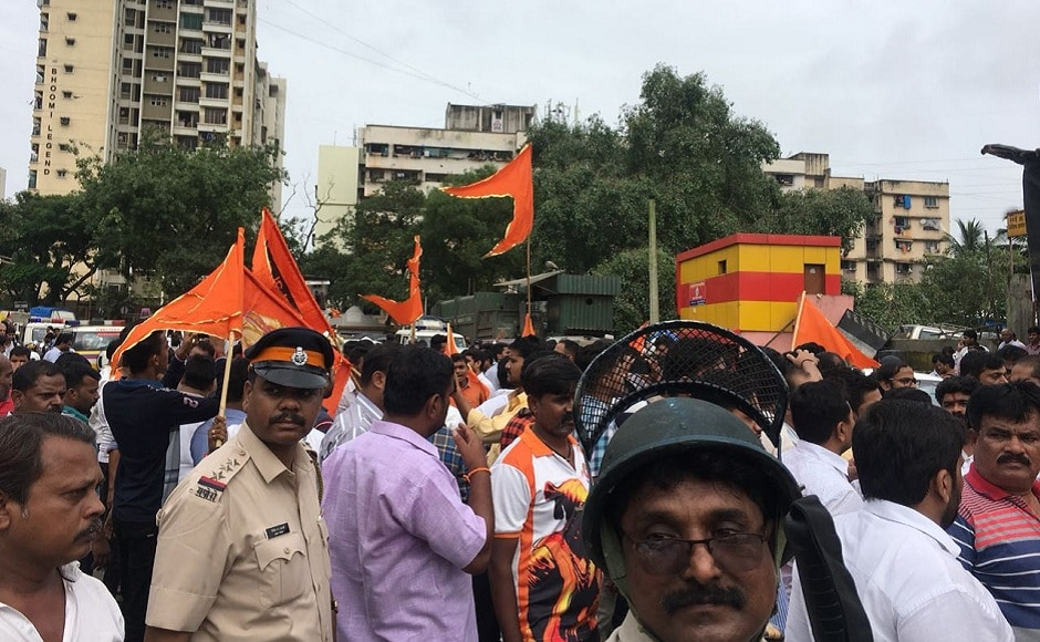 Two Maratha outfits — the Maratha Kranti Morcha and the Sakal Maratha Samaj — called for a Maharashtra bandh on Wednesday. The shutdown was observed in various parts of the state, although schools and colleges were excluded from it. Firstpost/Ashish Patil