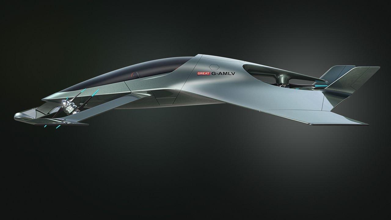 Aston Martin Volante  concept.